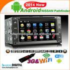 NSN-6200GDA for NISSAN Qashqai/Navara with audio/radio/canbus Android navigation system Car DVD GPS