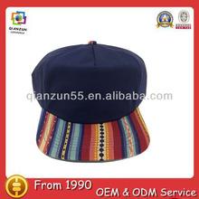 2014 fashion high quality 5 panel cap /wholesale two tone cotton custom design 5 panel cap