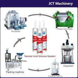 machine for making silicone aluminum adhesive