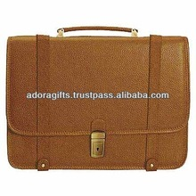 ADALCB - 0014 simple brown c computer satchel bags / leather laptop bags briefcase wholesale / nice style name brand laptop bags