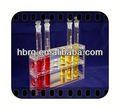 Ronda de fondo del frasco de vidrio de laboratorio de brasil a su vez- llave soluciones de laboratorio