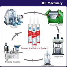 machine for making specialty silicone sealant construction