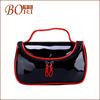 new products cosmetic bag for women cosmetic packing black paper bags with handles