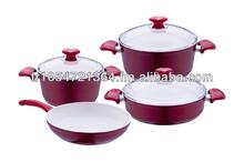Ceramic coated pots