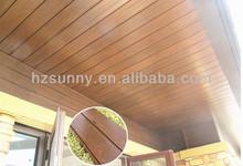 Wood plastic composite Wall Panel outdoor indoor decorate nature wood feeling