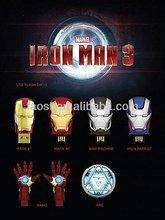 Iron man 3 USB flash drive Iron man USB pendrive