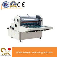 Water Based Glue Textile Paper Laminating Machine