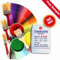 Dióxido de titanio rutilo R218 solución acuosa de pintura densidad