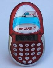 Customized floater Mini liquid calculator pocket calculator