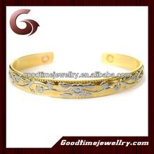 Fashion!!! popular ladiedesigner fashion fancy bangles healthy magnetic single bangle designs trendy designs