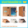 leather case with hand holding and card for ipad 2 3 4
