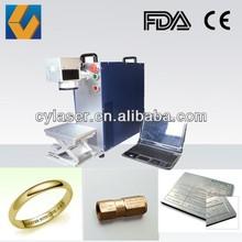 Metal laser marking machine mark letter 20W