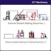 machine for making mastic silicone contre les intemperies