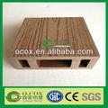 Wpc Hollow compuesto plástico de madera de esgrima poste