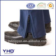 nylon zipper alpine trousers hide non-stop