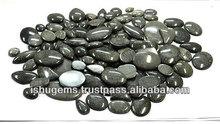 Ingrosso nero cabochon di corallo con mix di forma e dimensione, pietre preziose tradizionali per la creazione di gioielli