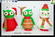New fashion wholesale Christmas hedgehog ornament