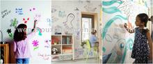 child favor home decor adhesive removable chalkboard sticker