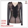 Ladies clothing manufacturer high quality indian sari blouse styles
