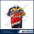 la promoción del motociclismo camisas de fitness de carreras desgaste