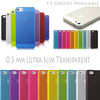 Best Price Thin Hard Case Cover Transparent Matte Ultra Slim 0,3 mm for iPhone 5 5G 5S 5C