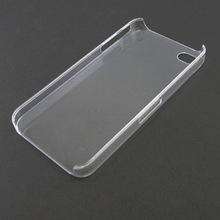Crystal Clear Transparent See Through Hard Phone Case Cover For iPhone 4 4S
