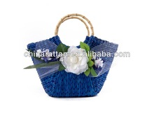 Cute Cornhusk Straw tote Bags for Girls