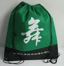 Fabric blank drawstring bag