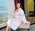 Kimono japonais pour la vente de corail d'ouatine peignoirs de bain des femmes