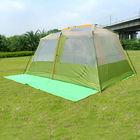10 Person 1 Room 1 hall 2 Door Big Outdoor Tent China Manufacture