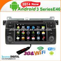 3 Series E46 2014 pure android 4.2 Car Radio GPS Navigation