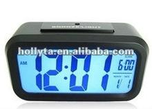 Alarm clock light with light sensor,Light induction backlight intelligent clock