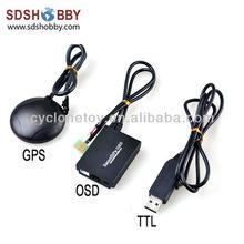 New FPV Remzibi Poor Man's OSD + Ublox GPS module + USB TTL Cable Module