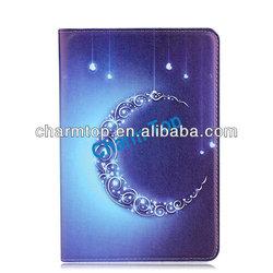 bling diamond series leather flip case for ipad mini 2