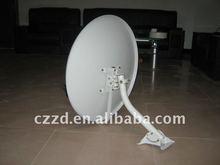 KU band 80cm TV satellite antenna made in china