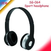Sport mp3 headset with fm radio ,SG-064