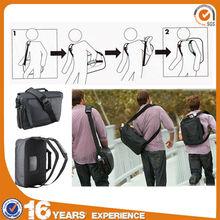 2014 new design canvas backpack wholesale, multifunctional backpack,oem backpack shoulder bag 2 in 1
