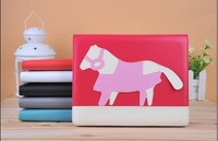 New design bulk for ipad mini horse leather case