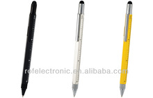 Tool pen promotion metal ball pen /ballpoint with touch pen for touch screen