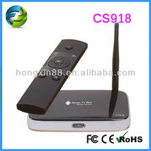 Smart Tv Dream Link Hd Box Android 4.2.2 Cs918 Quad Core Hdmi Rj45 Android 4.2 Google Quad-Core Wifi Rk3188 Tv Box