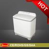 Double tub washing machine with SASO