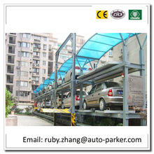 Smart Parking Mechanical Car Parking System PLC Computer Control Garage Parking System