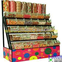 Stationary retail custom made candy kiosk for sale