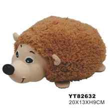 latex and plush dog toy