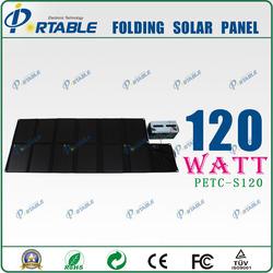 120w portable folding solar panel kits monocrystalline solar cell