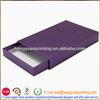 Packaging slide cardboard box sliding drawer box