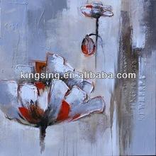 pittura a olio floreale per la decorazione della stanza