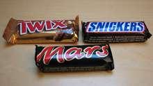 MARS TWIX SNICKERS CHOCOLATE BAR