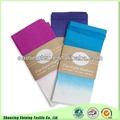 colorido de algodón orgánico teñido dip manteles y servilletas