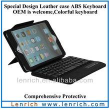 LBK188 portable bluetooth keyboard for apple ipad for ipad mini 2 bluetooth keyboard black keyboard case